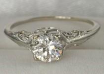 wedding photo - Vintage Wedding .. Ring