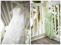 wedding photo - Pale Green Beach Wedding Inspiration, Minerva Photography Via Aphrodite's Wedding Blog