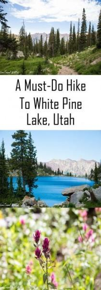 wedding photo - A Gorgeous White Pine Lake Hike In The Utah Mountains