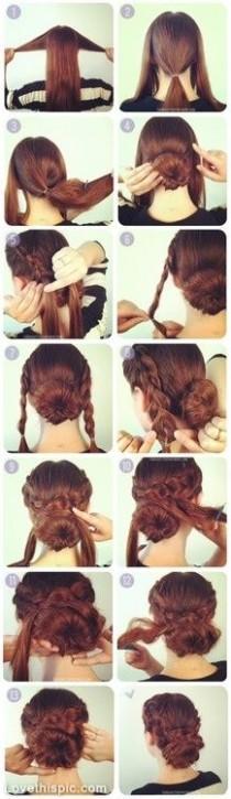 wedding photo - DIY Hair