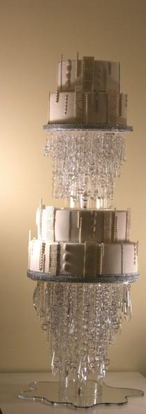 wedding photo - Crystal Wedding Cake