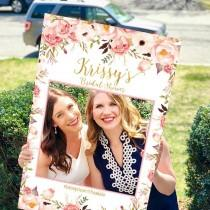 wedding photo - Bridal Shower Photo Prop, Wedding photo props, Bridal shower photo booth frame, Shower photo Prop, Baby Shower Photo Prop Frame, photo props