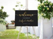 wedding photo - Welcome Sign Template