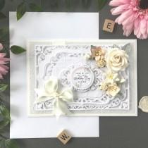 wedding photo - Personlisable Wedding Card, Wedding Cards, Wedding Day Card, Boxed Wedding Card, Custom Wedding Card, Luxury Card, Luxury Wedding Day Card