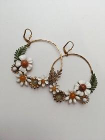 wedding photo - Bespoke hoop earrings, #1517