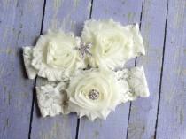 wedding photo - 100+ Colors, Ivory Wedding Garter, Garter Wedding, Beach Garters, Beach Wedding, Starfish Garter, Custom Garter, Ocean Wedding