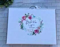 wedding photo - Personalised wedding dress box, wedding dress travel box, personalised travel box, personalised wedding box