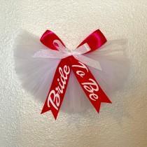 wedding photo - Booty Veil, Swimsuit Tutu Veil, Bachelorette Party Gift, Bridal Shower Gift
