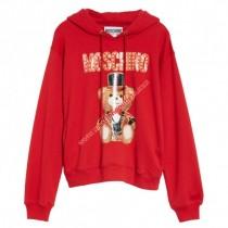 wedding photo - Moschino Circus Teddy Womens Long Sleeves Sweatshirt Red