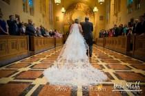 wedding photo - SALE - 3D Flower Petal Veil Cathedral Length