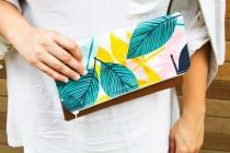 wedding photo - Clutch- womens bag -women's clutch- clutch for women-summer clutch - floral clutch -gift for her -clutch bag- clutch purse -evening clutch