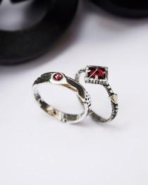 wedding photo - Couples ring set