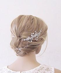 wedding photo - Bridal hair comb,Wedding hair piece,Wedding hair comb,bridal hair piece,Bridal headpiece, wedding headpiece,bridal hair vine,hair clip