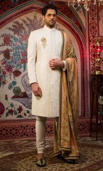wedding photo - Men's Sherwani, groom