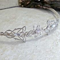 wedding photo - Elven Circlet Crown Tiara Rohan Elvenstar Celtic Weave