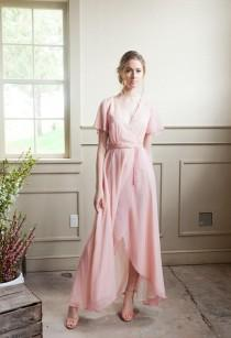wedding photo - Custom Bridesmaid Dress (Choose your Color)