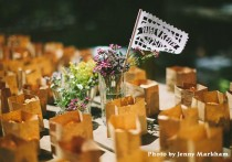 wedding photo - Mexican Papel Picado Flags CLASSIC Banderas - personalized in your names and colors