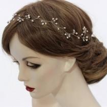 wedding photo - Star Wedding Hair Accessory, Star Bridal Headpiece, Delicate Star Hair Vine, Silver Star Hair Accessory, Gold Star Bridal Hair Wreath