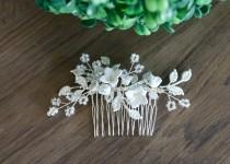 wedding photo - Bridal hair piece Wedding hair piece Bridal hair comb Wedding Hair comb Wedding hair vine Bridal hair accessories Wedding Hair Accessories