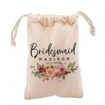 wedding photo - Personalized Bridal Shower Pouch