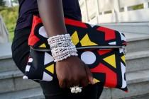 wedding photo - Versatile Beautiful Clutch /Purse/Bag in Ankara/African Wax Print
