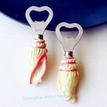 wedding photo - #weddingfavors SeaShell Bottle Opener Favor Beach Wedding Bomboniere SZ013 #beterwedding