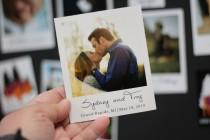 """wedding photo - Photo Magnets for Save the Dates, Wedding Magnets, Favors, Birthdays, 2"""" x 2.25"""" Size"""