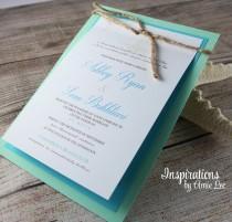 wedding photo - Beach Wedding Invitations, Beach wedding, Wedding Invitations, Tropical Wedding, Destination Wedding