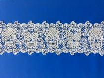 wedding photo - Edible Lace, Sugar Lace, Cake Lace, Gothic, Day of the Dead, DOD, Halloween, Weddng Cake, Sugar skulls,