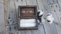 wedding photo - Custom Wedding Ring Box