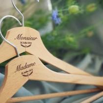 wedding photo - Custom hanger marriage, communion, baptism