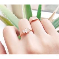 wedding photo - Raw Diamond Ring For Woman, Raw Herkimer Diamond Triple Ring, Rough diamond ring, Raw Crystal Ring, Engagement Ring, Raw Stone Ring