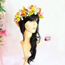 wedding photo - Tropical Flower Crown