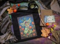 "wedding photo - Tote bag with print ""Igniter of Autumn Lanterns"""