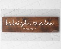 wedding photo - Engagement Gift//Wedding Date Sign//Wedding Gift//Pallet Sign//photography props//rustic wedding decor//bridal shower gift//gift for bride
