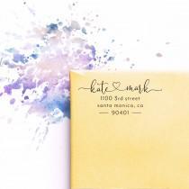 wedding photo - Return Address Stamp