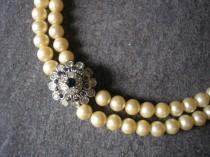 wedding photo - Vintage A&S Pearl Choker