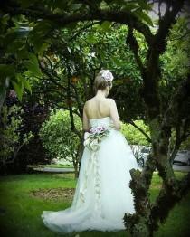 wedding photo - Behind the scenes shot from The Country Gardens shoot. Katy wearing The ROSE OF SHARON Dress--Amy Jo Tatum Bridal Couture @bridechic #weddingfashion #weddingdressmaker #weddinginspiration #weddingapparel #weddingattire #weddingcouture #bridalfashion #wedd