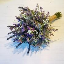wedding photo - Dried flower bouquet