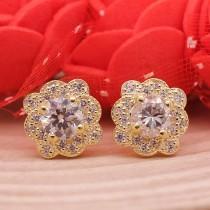 wedding photo - Shop Stylish 2.32 Ct Moissanite Stud Earrings Screw Back