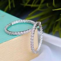 wedding photo - Buy Best 0.60 Ct Moissanite Earrings India
