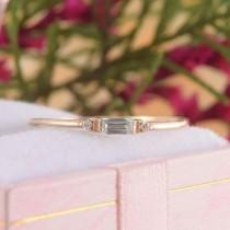 wedding photo - Womens Topaz Promise Ring, Yellow Gold Small Minimalist Ring, Dainty Promise Ring for Her, Blue Topaz Ring, Gold Delicate Ring,Topaz Jewelry