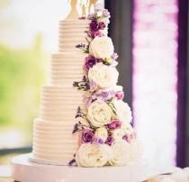 "wedding photo - 16"" or 18"" ""White Reflections"" Wedding Cake Stand, cake plateau"