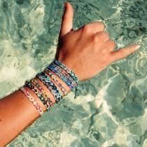 wedding photo - Handmade bracelet, Bracelets for women, Pattern Bracelet, Bracelet set, Boho jewelry, Beaded bracelet, Friendship bracelet, Stack bracelet