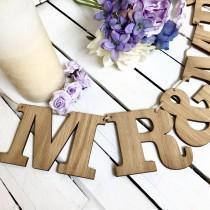 wedding photo - Wedding decor, wedding bunting, bunting, wedding decoration, wedding garland, rustic wedding, rustic bunting, vintage bunting, wedding sign
