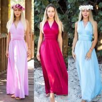 wedding photo - Lavender  Maxi Infinity Dress, Convertible Bridesmaid Dress, cheap prom dress, Evening Dress,Multiway Dress,Wrap Dress, formal Purple Dress