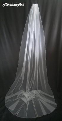 wedding photo - Cathedral Veil, White