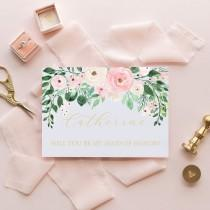 wedding photo - Personalized Will You Be My Bridesmaid Card - Bridesmaid Proposal - Bridal Party Card - Bridesmaid Proposal Card - Bridesmaid Gift - Bride