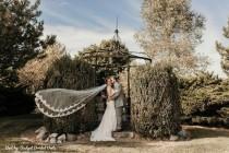 wedding photo - Cathedral lace trim veil, soft, elegant veil