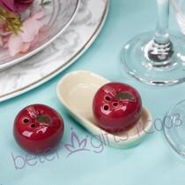 wedding photo - #beterwedding Door Gifts Salt and Pepper Shakers Favor婚禮小物調味罐組TC003